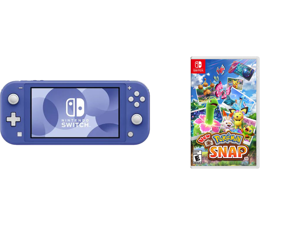 Nintendo Switch Lite - Blue and New Pokemon Snap - Nintendo Switch