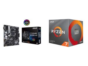ASUS Prime B450M-A II AM4 Micro ATX AMD Motherboard and AMD RYZEN 7 3700X 8-Core 3.6 GHz (4.4 GHz Max Boost) Socket AM4 65W 100-100000071BOX Desktop Processor