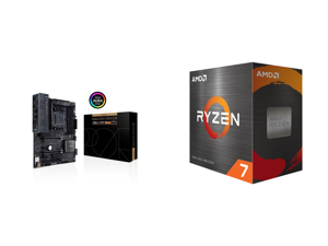 ASUS ProArt B550-CREATOR AM4 AMD B550 SATA 6Gb/s ATX AMD Motherboard and AMD Ryzen 7 5800X Vermeer 8-Core 3.8 GHz Socket AM4 105W 100-100000063WOF Desktop Processor