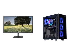 "LG 27BK430H-B 27"" Full HD 1920 x 1080 75Hz HDMI VGA AMD FreeSync Technology LED Backlit IPS Monitor and ABS Challenger Gaming PC - Ryzen 5 3600 - GeForce GTX 1660 Super - 16GB DDR4 3000MHz - 512GB Intel M.2 NVMe SSD"