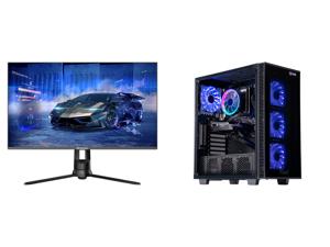 "Westinghouse WM32DX9019 32"" WQHD 2560 x 1440 2K Resolution 144Hz HDMI DisplayPort AMD FreeSync Technology Flicker-Free Anti-Glare Widescreen Backlit LED Gaming Monitor and ABS Challenger Gaming PC - Ryzen 5 3600 - GeForce GTX 1660 Super - 1"