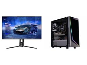 "Westinghouse WM32DX9019 32"" WQHD 2560 x 1440 2K Resolution 144Hz HDMI DisplayPort AMD FreeSync Technology Flicker-Free Anti-Glare Widescreen Backlit LED Gaming Monitor and ABS Gladiator Gaming PC - Intel i7 10700KF - GeForce RTX 3070 8GB -"