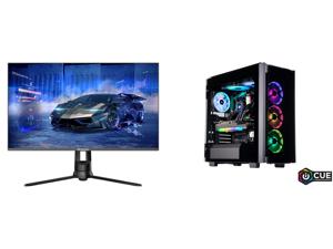 "Westinghouse WM32DX9019 32"" WQHD 2560 x 1440 2K Resolution 144Hz HDMI DisplayPort AMD FreeSync Technology Flicker-Free Anti-Glare Widescreen Backlit LED Gaming Monitor and ABS Legend Gaming PC - AMD R9 5950X - EVGA GeForce RTX 3080 Ti FTW3"