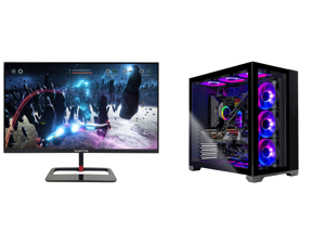 """Sceptre 27"""" QHD IPS LED Monitor 2560 x 1440P 2K HDR400 HDMI DisplayPort up to 144Hz 1ms Height Adjustable Build-in Speakers Gunmetal Black 2021 (E275B-QPN168) and Skytech Gaming PC Desktop AMD Ryzen 9 5900X 3.70GHz NVIDIA GeForce RTX 3080 T"""