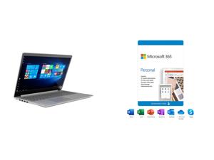 "Lenovo Laptop V15 IIL 82C500L1US Intel Core i5 10th Gen 1035G1 (1.00 GHz) 8 GB Memory 256 GB PCIe SSD Intel UHD Graphics 15.6"" 1920 x 1080 Windows 10 Pro 64-bit and Microsoft 365 Personal   12-Month Subscription 1 person   Premium Office ap"