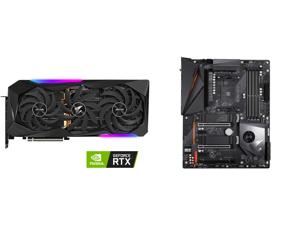 GIGABYTE AORUS GeForce RTX 3070 Ti 8GB GDDR6X PCI Express 4.0 ATX Video Card GV-N307TAORUS M-8GD and GIGABYTE X570 AORUS PRO WIFI AMD Ryzen 3000 PCIe 4.0 SATA 6Gb/s USB 3.2 AMD X570 ATX Motherboard