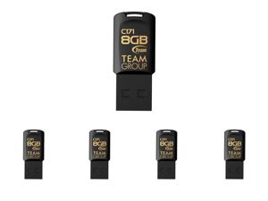 5 x Team Group 8GB C171 USB 2.0 Flash Drive (TC1718GB01)