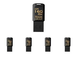 5 x Team Group 16GB C171 USB 2.0 Flash Drive (TC17116GB01)