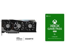 GIGABYTE Radeon RX 6700 XT GAMING OC 12G Graphics Card WINDFORCE 3X Cooling System 12GB 192-bit GDDR6 GV-R67XTGAMING OC-12GD Video Card and Xbox Game Pass for PC 3 Month Membership US [Digital Code]