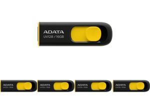 5 x ADATA 16GB UV128 USB 3.2 Gen 1 Flash Drive (AUV128-16G-RBY)