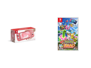 Nintendo Switch Lite - Coral and New Pokemon Snap - Nintendo Switch