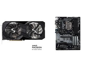 ASRock Challenger D Radeon RX 6600 XT 8GB GDDR6 PCI Express 4.0 Video Card RX6600XT CLD 8GO and ASRock Z390 Pro4 LGA 1151 (300 Series) Intel Z390 SATA 6Gb/s ATX Intel Motherboard