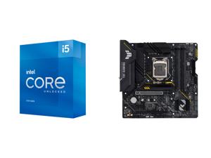 Intel Core i5-11600K - Core i5 11th Gen Rocket Lake 6-Core 3.9 GHz LGA 1200 125W Intel UHD Graphics 750 Desktop Processor - BX8070811600K and ASUS TUF GAMING B560M-PLUS WIFI LGA 1200 Intel B560 SATA 6Gb/s Micro ATX Intel Motherboard
