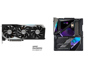 GIGABYTE AMD Radeon RX 6800 XT GAMING 16G Graphics Card WINDFORCE 3X Cooling System 16GB 256-bit GDDR6 GV-R68XTGAMING-16GD Video Card and GIGABYTE Z590 AORUS XTREME WATERFORCE (Z590 AORUS XTREME WB) LGA 1200 Intel Z590 Extended ATX Motherbo