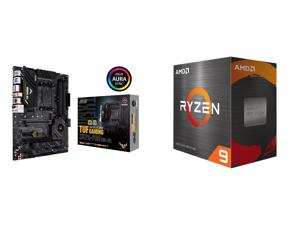 ASUS TUF Gaming X570-PRO (WiFi 6) AMD AM4 (3rd Gen Ryzen ATX Gaming Motherboard (PCIe 4.0 2.5Gb LAN BIOS Flashback HDMI USB 3.2 Gen 2 Addressable Gen 2 RGB Header and Aura Sync) and AMD Ryzen 9 5950X - Ryzen 9 5000 Series Vermeer (Zen 3) 16