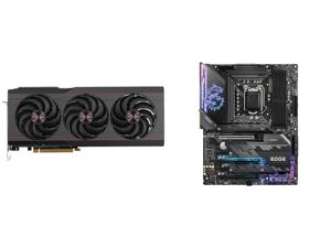 SAPPHIRE PULSE AMD Radeon RX 6800 XT Gaming Graphics Card with 16GB GDDR6 AMD RDNA 2 (SKU#11304-03-20G) and MSI MPG Z590 GAMING EDGE WIFI LGA 1200 Intel Z590 SATA 6Gb/s Intel Motherboard