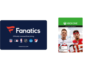 Fanatics $50 Gift Card (Email Delivery) and Madden NFL 22: Standard Edition Xbox One [Digital Code]