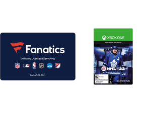 Fanatics $50 Gift Card (Email Delivery) and NHL 22: Standard Edition Xbox One [Digital Code]