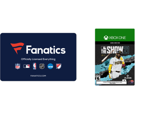 Fanatics $50 Gift Card (Email Delivery) and MLB The Show 21 Xbox One Standard Edition [Digital Code]
