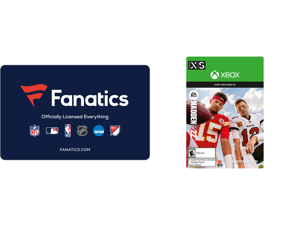 Fanatics $50 Gift Card (Email Delivery) and Madden NFL 22: Standard Edition Xbox Series X   S [Digital Code]