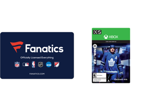 Fanatics $50 Gift Card (Email Delivery) and NHL 22: Standard Edition Xbox Series X S [Digital Code]