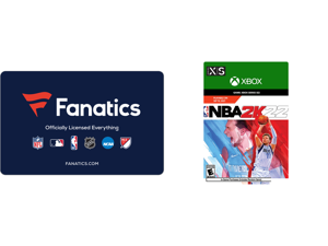Fanatics $50 Gift Card (Email Delivery) and NBA 2K22 Xbox Series X   S [Digital Code]