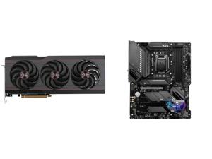 SAPPHIRE PULSE AMD Radeon RX 6800 XT Gaming Graphics Card with 16GB GDDR6 AMD RDNA 2 (SKU#11304-03-20G) and MSI MAG Z590 TOMAHAWK WIFI LGA 1200 Intel Z590 SATA 6Gb/s ATX Intel Motherboard