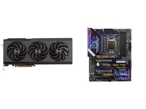 SAPPHIRE PULSE AMD Radeon RX 6800 XT Gaming Graphics Card with 16GB GDDR6 AMD RDNA 2 (SKU#11304-03-20G) and MSI MPG Z590 GAMING FORCE LGA 1200 Intel Z590 SATA 6Gb/s ATX Intel Motherboard
