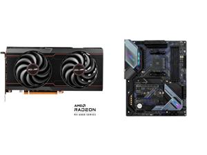 SAPPHIRE Pulse Radeon RX 6600 XT 8GB GDDR6 PCI Express 4.0 ATX Video Card 11309-03-20G and ASRock B550 EXTREME4 AM4 AMD B550 SATA 6Gb/s ATX AMD Motherboard