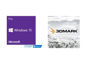 Windows 10 Pro 64-bit - OEM and 3DMark Advanced Edition
