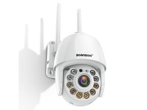 1080P IP Camera Security Camera WiFi Wireless 4X Digital Zoom Auto Motion Tracking Full Color Night Vision Mini Surveillance Cam