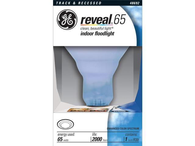 GE Lighting 48692 65 Watt Reveal™ Indoor Recessed & Track Flood Light Bulb photo