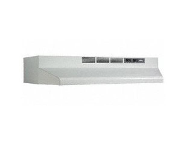 BROAN 30-Inch Convertible Under-Cabinet Range Hood, 160 CFM, White F403001 photo