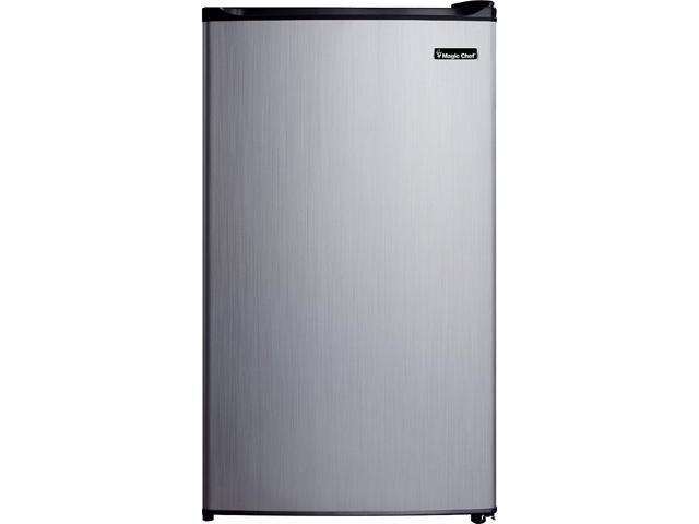 Magic Chef MCBR350S2 3.5 cu. ft. Mini Refrigerator, Stainless Look photo