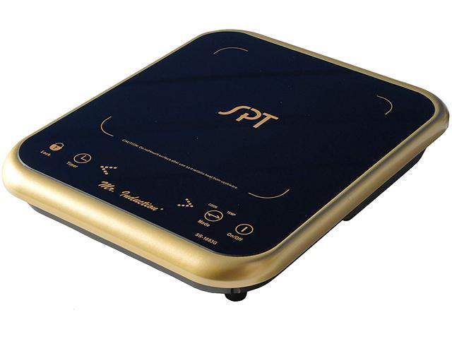 SPT SR-1883G 1650W Induction Cooktop with Gold Trim photo