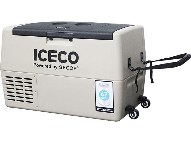 ICECO TR45 Portable Refrigerator, 45 Liter, DC 12/24V, AC 100-240V, Fridge Freezer Cooler, For Outdoor and Home, For Car, Truck, Vehicle, Van. photo