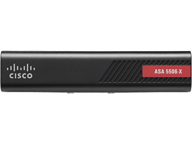 Cisco ASA 5506-X Network Security Firewall Appliance - 8 Port - 10/100/1000Base-T - Gigabit - AES, photo