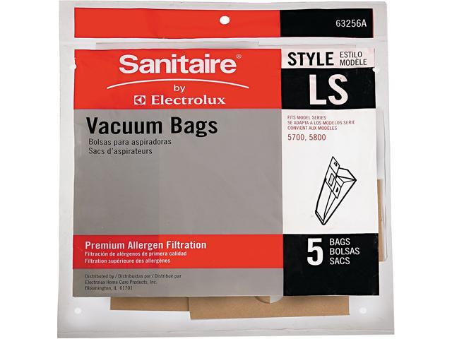 Eureka Commercial Upright Vacuum Cleaner Replacement Bags Style LS 5/Pack photo