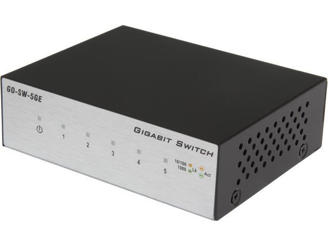 D-Link GO-SW-5GE 5-Port Gigabit Unmanaged Metal Desktop Switch photo