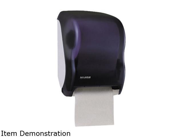 San Jamar T1300TBK Electronic Touchless Roll Towel Dispenser, 11 3/4 x 9 x 15 1/2, Black photo