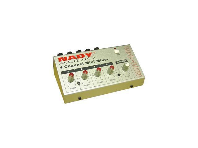 Nady MM-141 4-Channel Mini Mixer photo