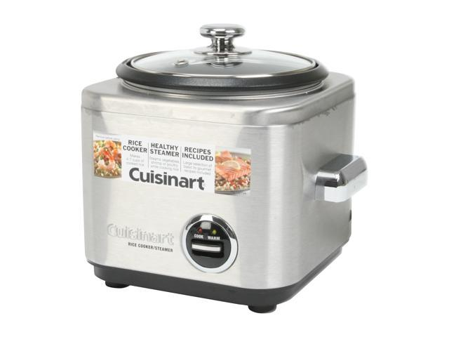 Cuisinart 4-Cup Stainless Steel Rice Cooker CRC-400 photo