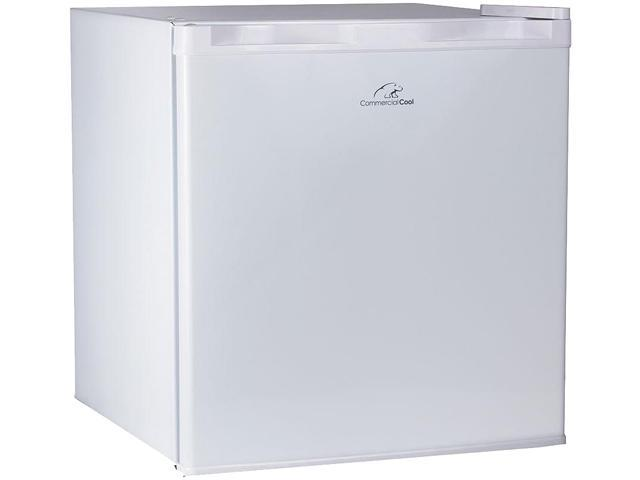 Commercial Cool CCR16W 1.6 Cubic Feet R600a 2014UL Refrigerator, White photo
