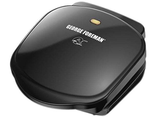 George Foreman Basic Plate Grill and Panini-Black GR10B photo
