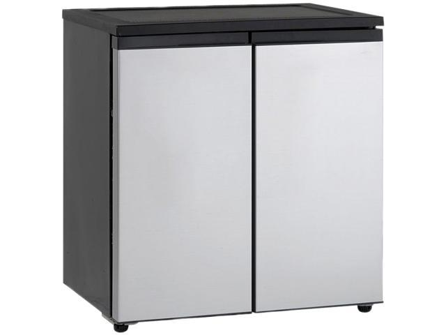 Avanti 5.5cf Refrigerator Double Door Black RMS550PS photo