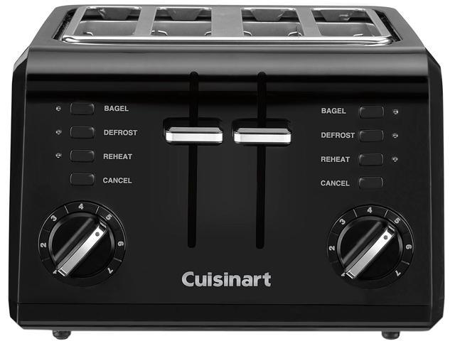 Cuisinart CPT-142BKC Black 4-Slice Compact Toaster photo