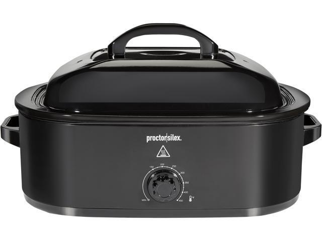 Proctor Silex 32200 Black 18 Qt Roaster Oven photo
