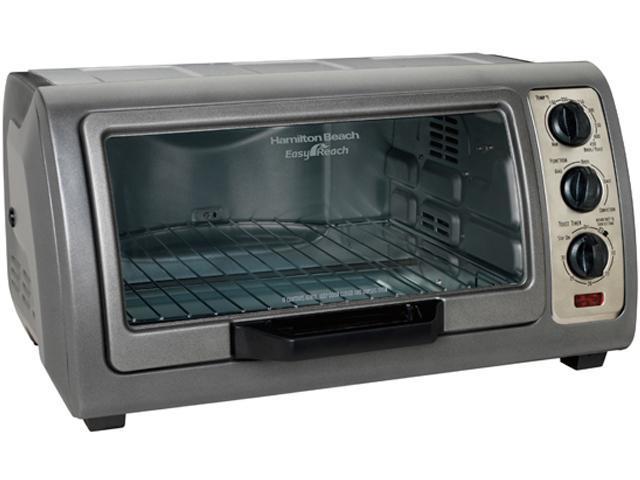 Hamilton Beach 31126 Easy-Reach 6 Slice Toaster Oven Broiler with Convection photo