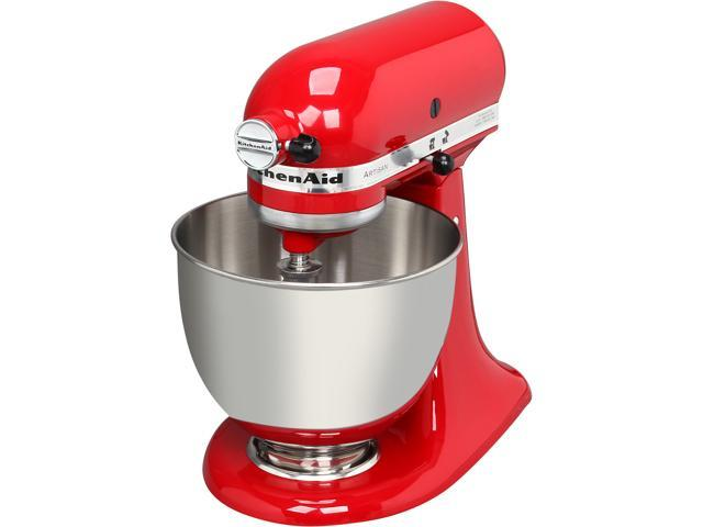 KitchenAid KSM150PSER Artisan Stand Mixer with Pouring Shield, 5 Quarts, Empire Red photo