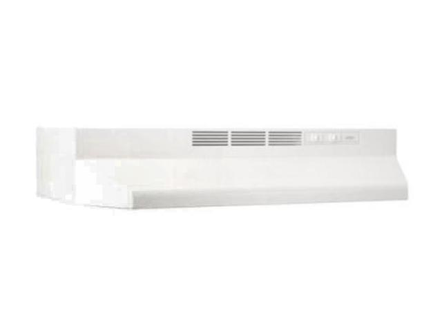 BROAN 30' White Non-Ducted Range Hood 413001 photo
